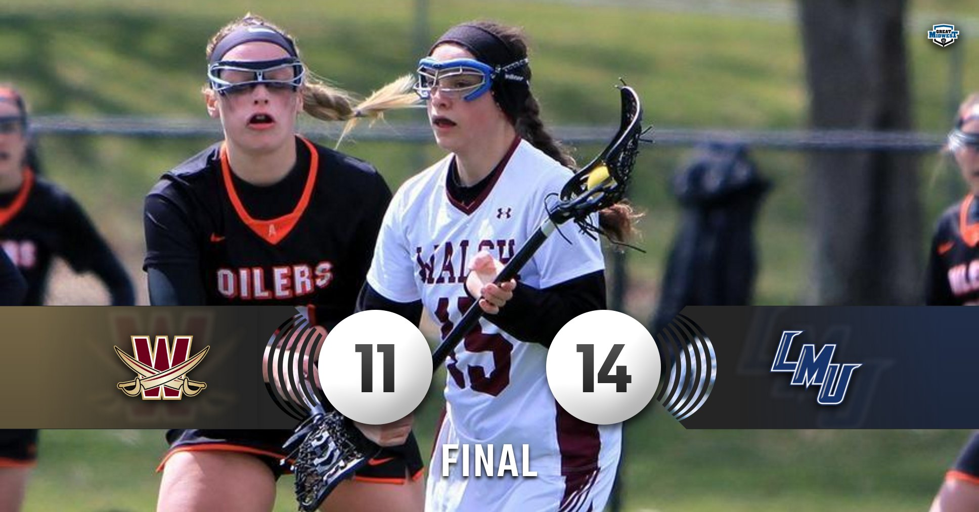 Cavaliers Drop Road Game at Lincoln Memorial, 14-11