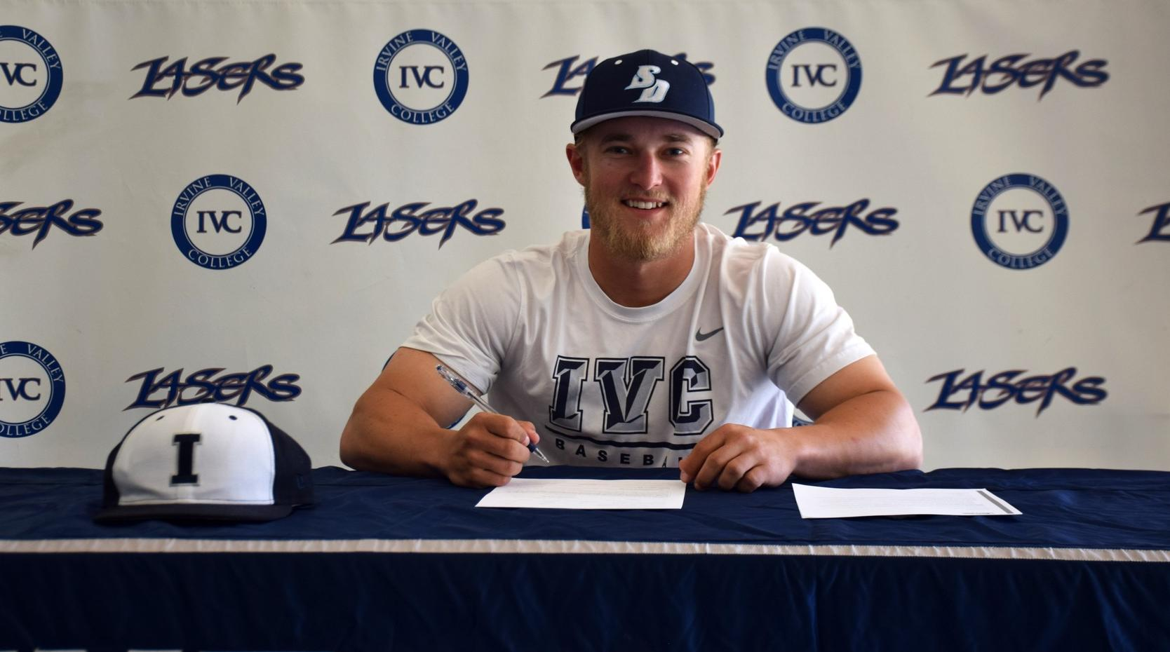 Baseball player Tyler Odekirk signs with University of San Diego