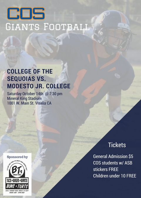 Game Notes: COS vs. Modesto College