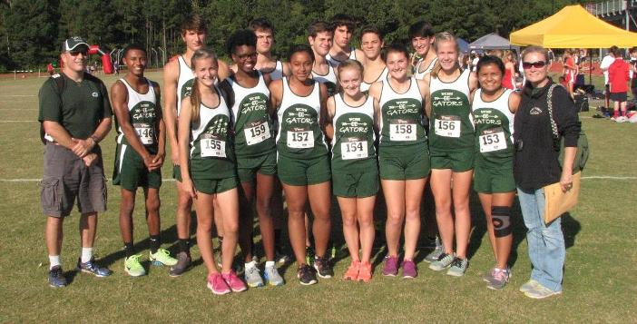 Cross Country Team Competes at Region Meet