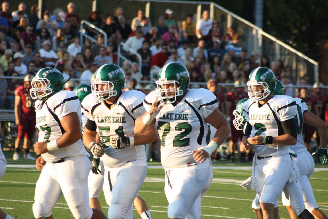 Offensive Line (Photo by Jeremy Smith/Lake Erie College Athletics)
