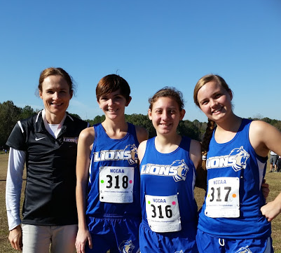 Lions Women's XC at NCCAA Nationals