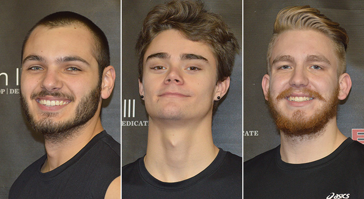 NEAC All-Conference Honors For Three Men's Volleyball Players