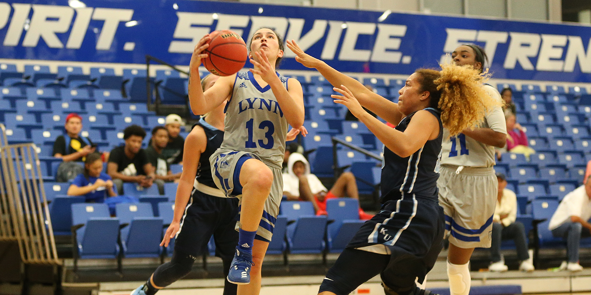 Vazquez Concepcion Leads Women's Basketball in Rout of Keiser