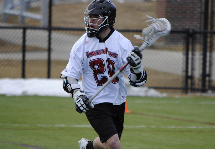 Kevin Dargin's School-Record 8 Goals Leads Men's Lacrosse to 17-5 Win over Dominican (NY)
