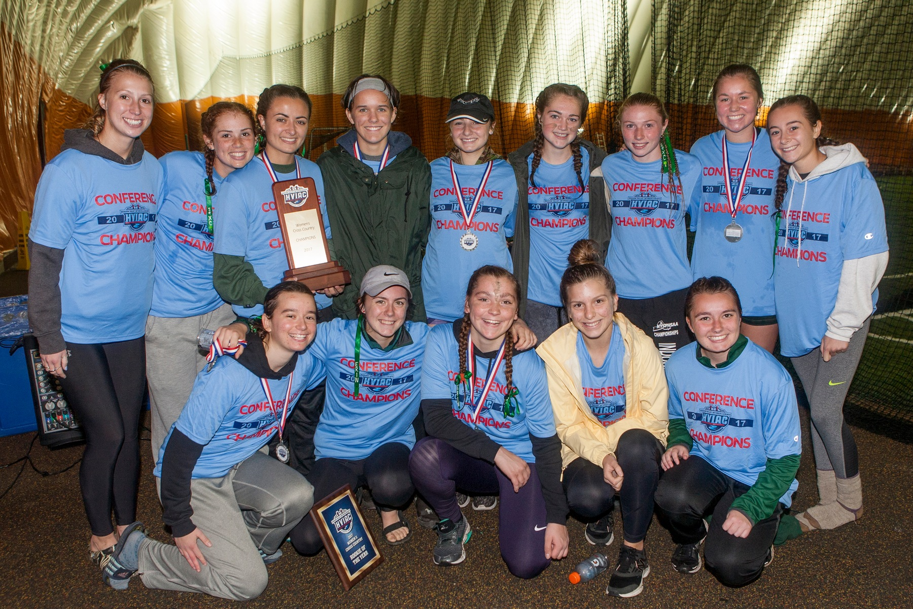 SUNY ESF Wins Second Women's Cross Country Championship in Three Years