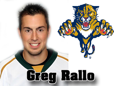 Former Bulldog Greg Rallo Signs With NHL's Florida Panthers