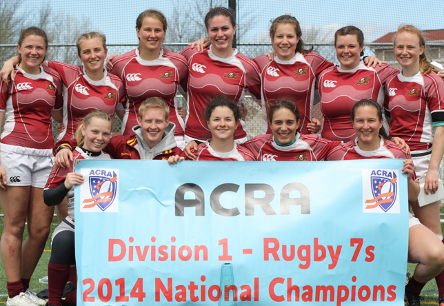 Women's Rugby: Norwich wins inaugural ACRA Division I 7s National Championship