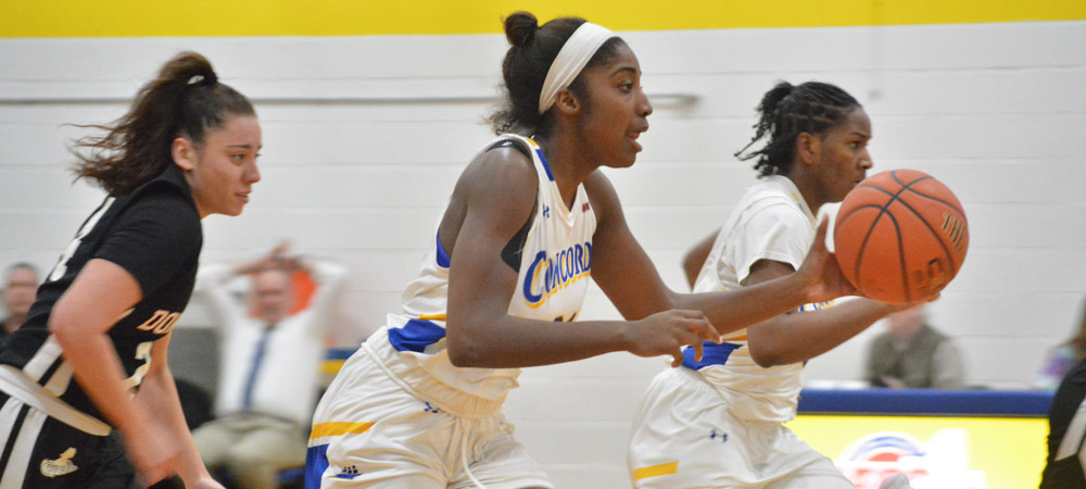 Women's Basketball Edged By Dominican, 59-55