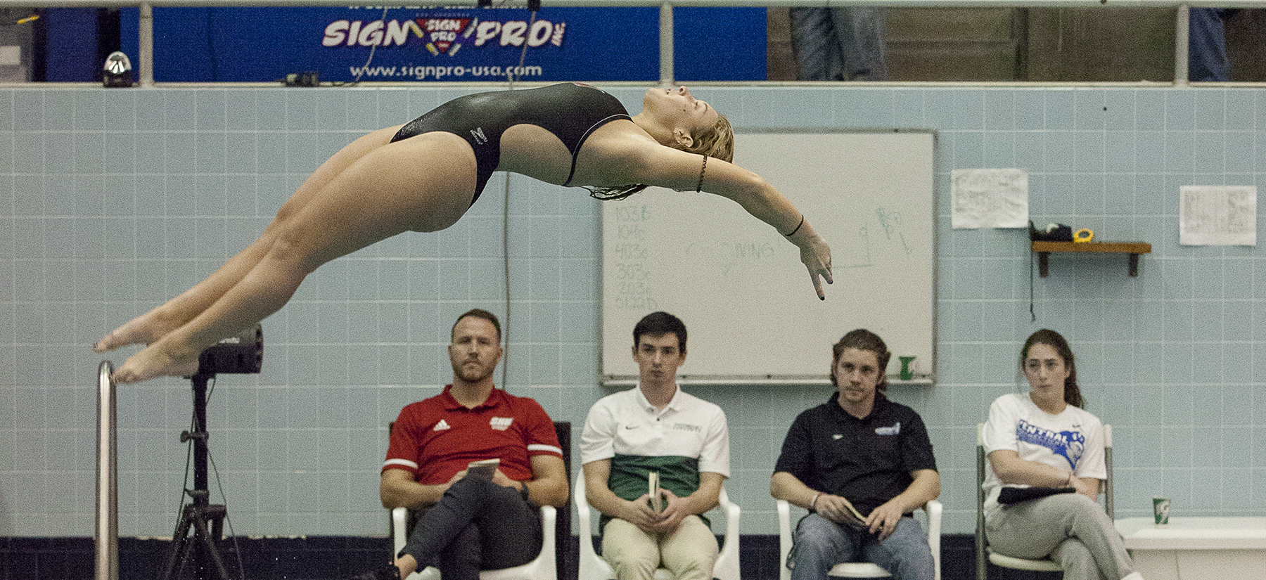 Swimming and Diving Concludes Day One At ECAC Winter Championships