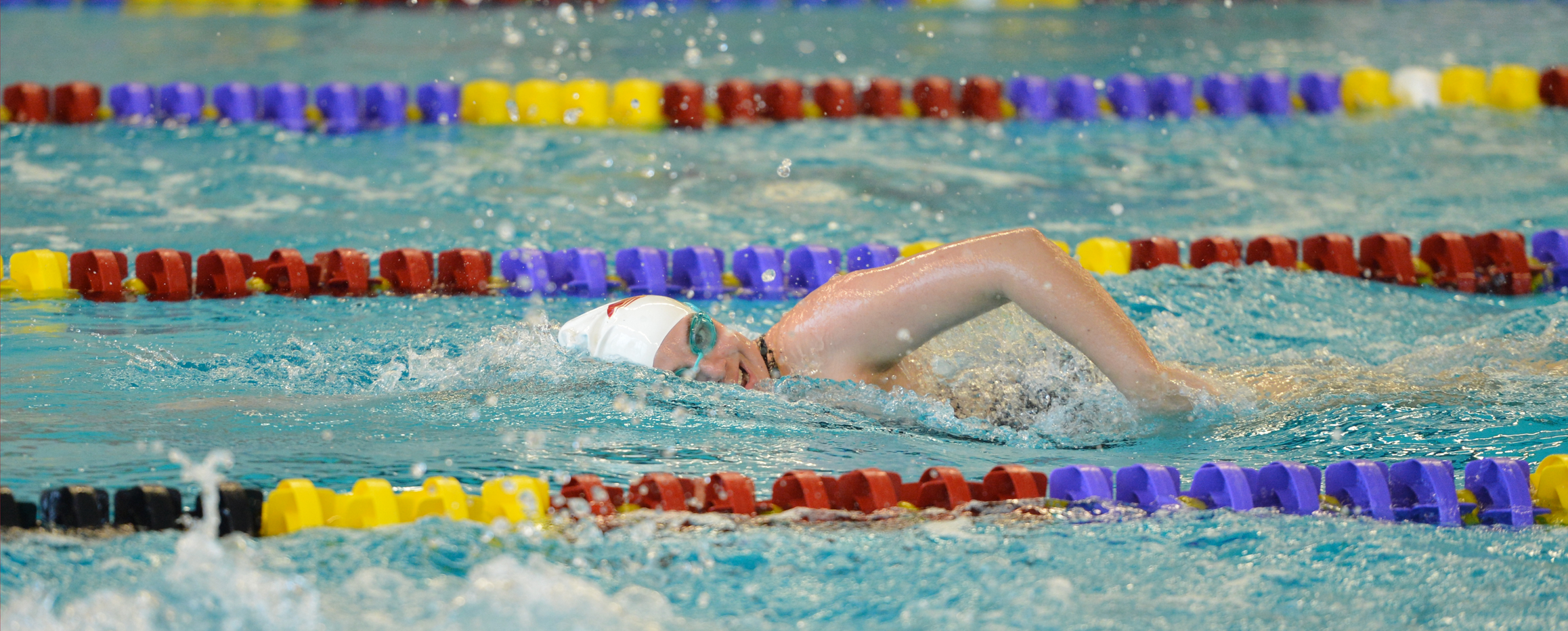 Women's swimming tops Loras, improves to 5-2