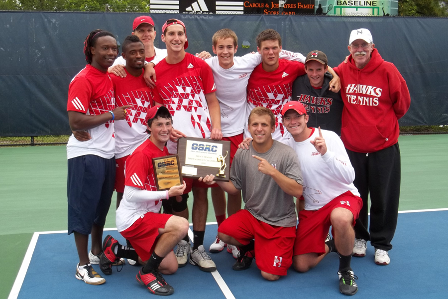 Huntingdon men's tennis claims GSAC title