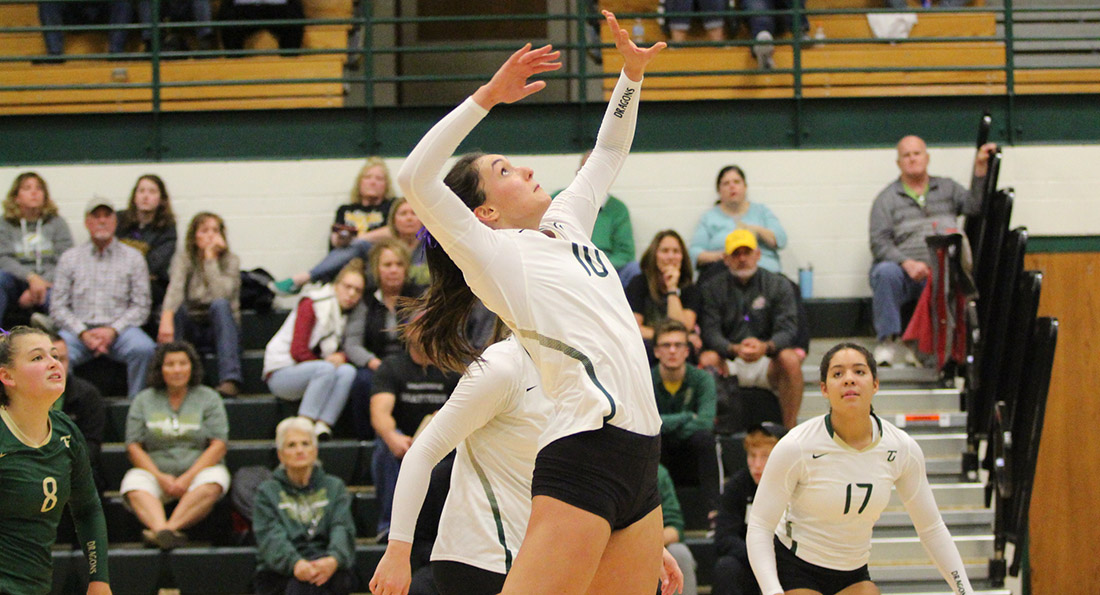 Dragons Sweep Panthers, Improve to 7-1 in GMAC action