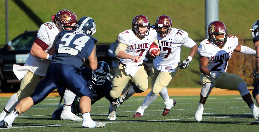 Mounties deliver inspiring effort in Loney Bowl loss