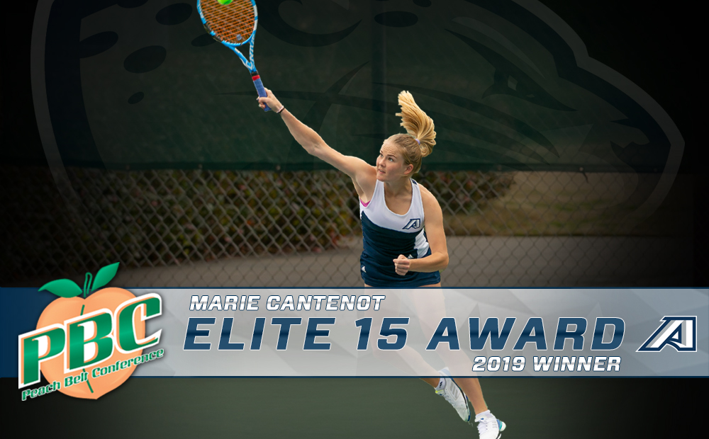 Marie Cantenot Earns Elite 15 Award From Peach Belt Conference