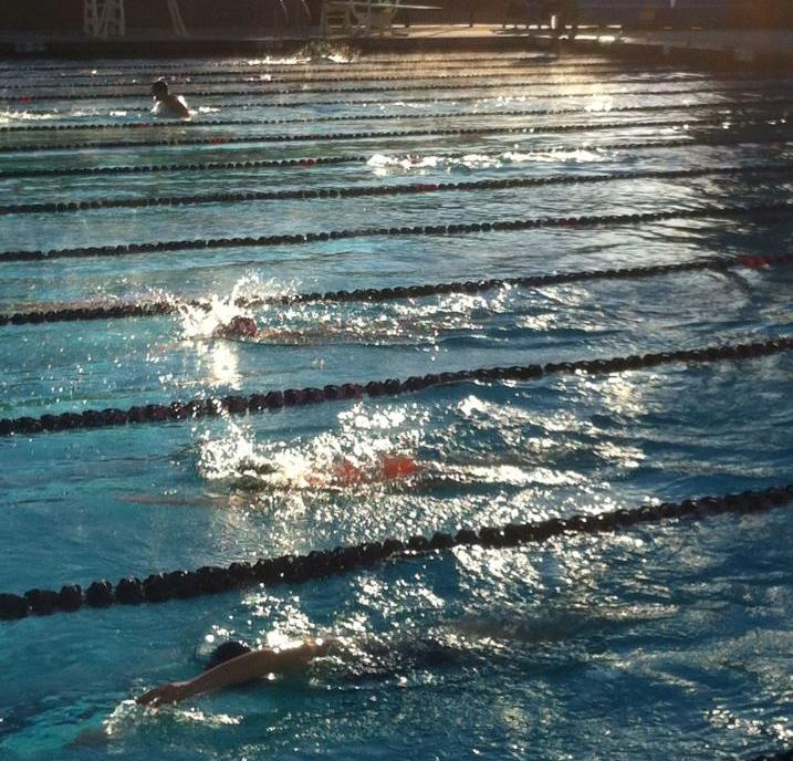 Swimming opens 2013 at Occidental