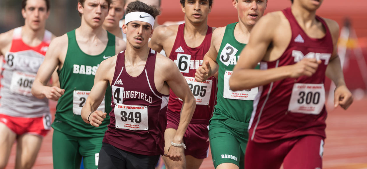 Pinho Leads Men's Track and Field at All New England Championships