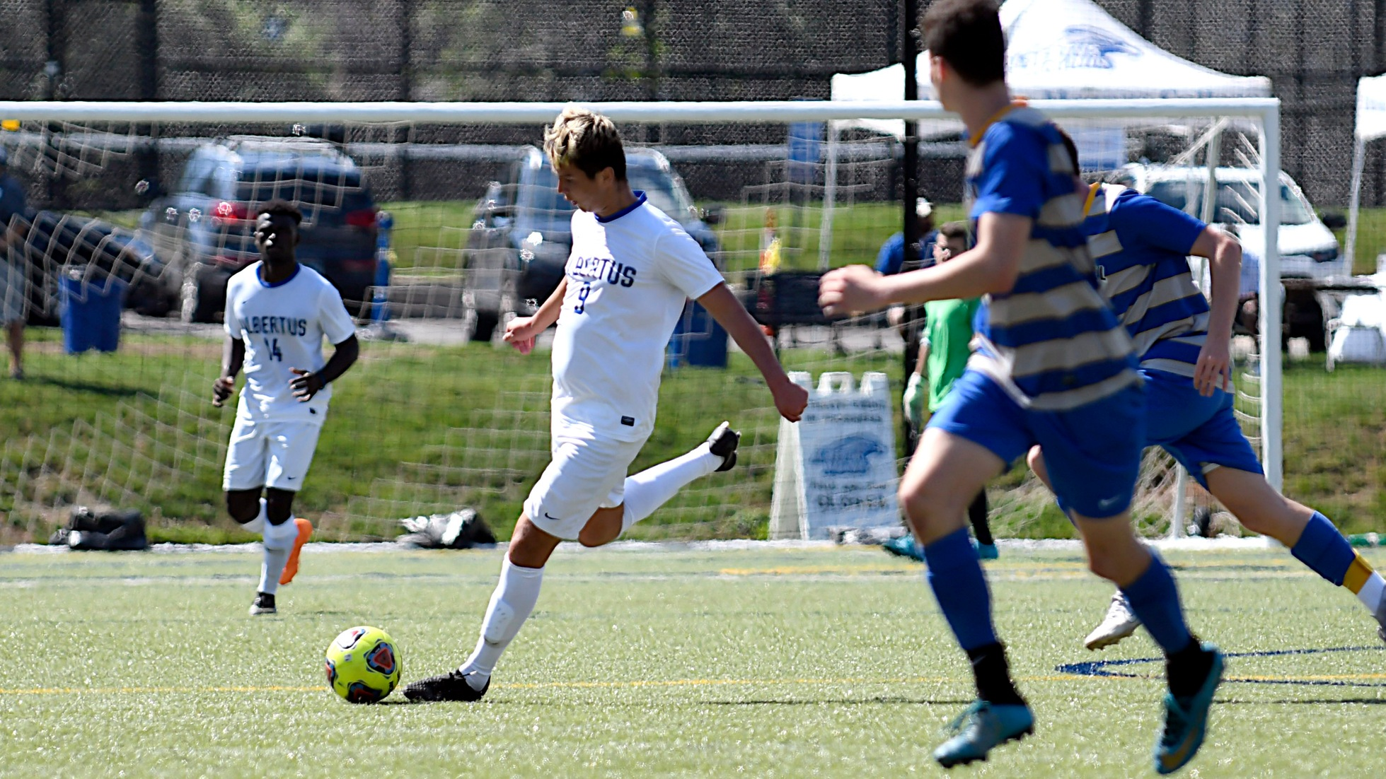 Men's Soccer Downed at Home by #6/10 Saint Joseph's College (Me.)