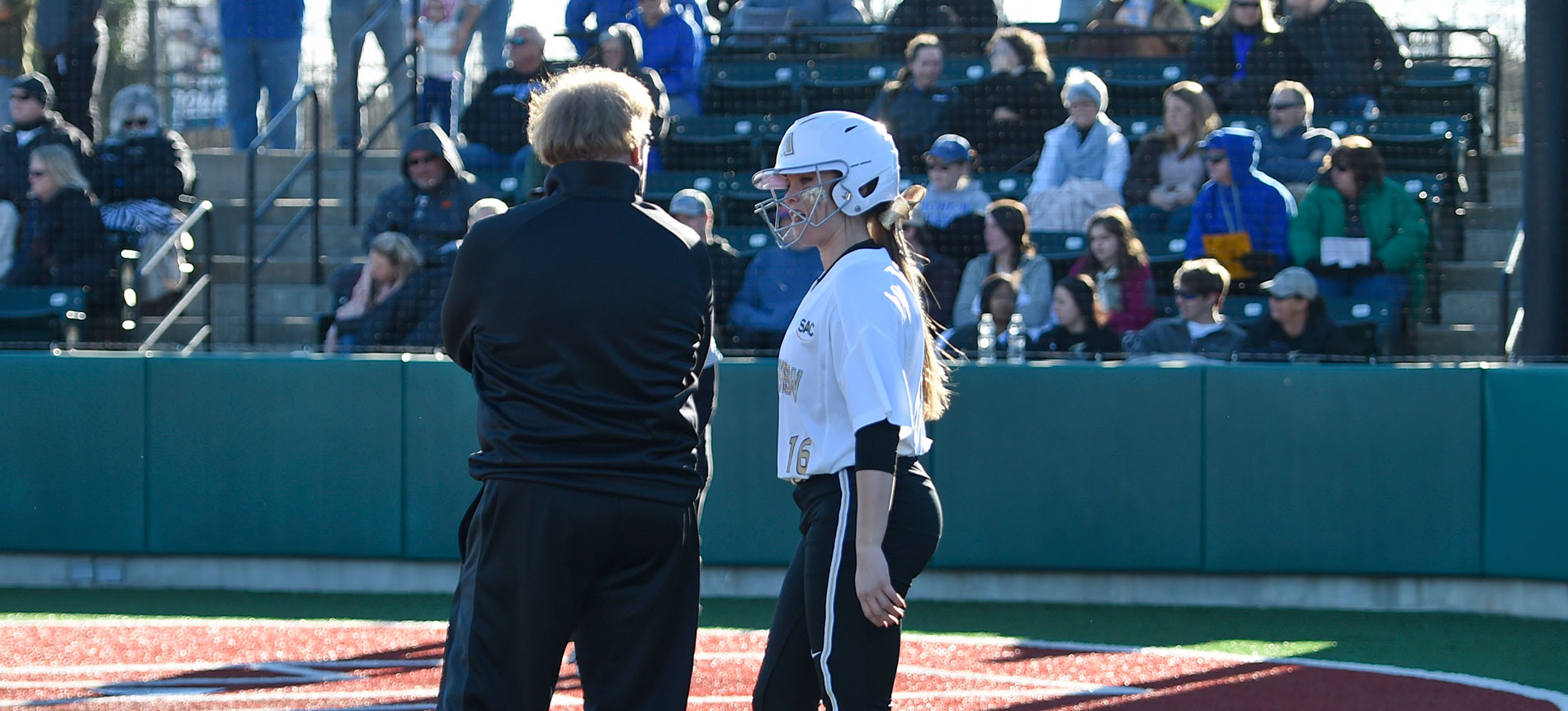 Softball Splits with Winston-Salem State