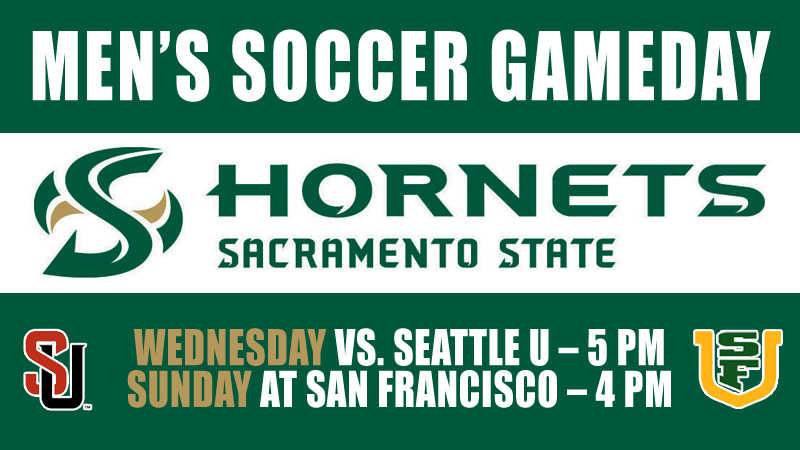 MEN'S SOCCER HOSTS SEATTLE U WEDNESDAY BEFORE VISIT TO SAN FRANCISCO