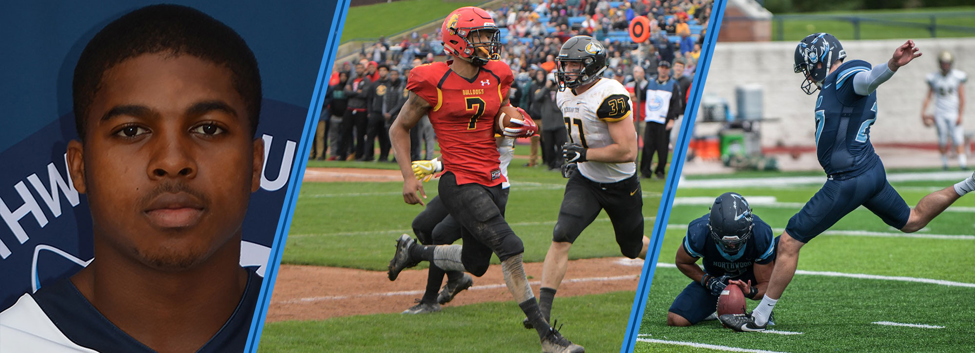 Ferris State's Campbell, Northwood's Williamson & Riser Collect GLIAC Football Player of the Week Honors