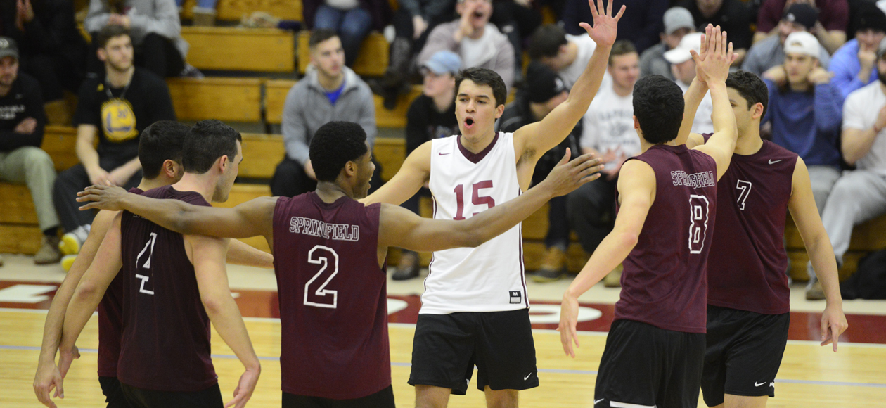 Men's Volleyball Cruises Past NJCU and Hunter