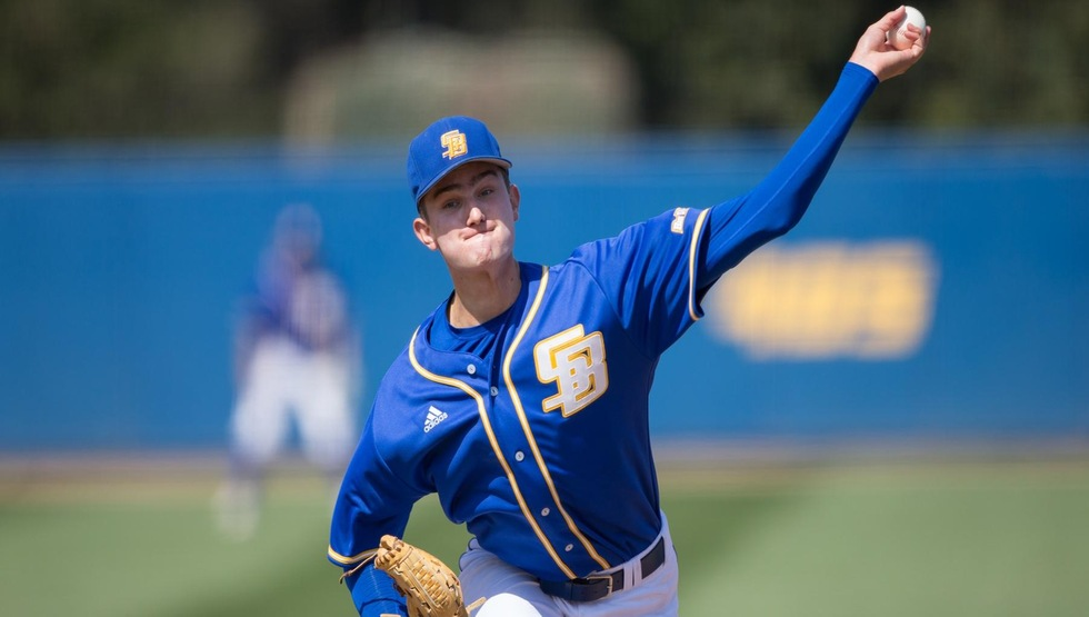 Junior LHP Ben Brecht will be the opening day starter for the Gauchos on Saturday. (Photo by Eric Isaacs)