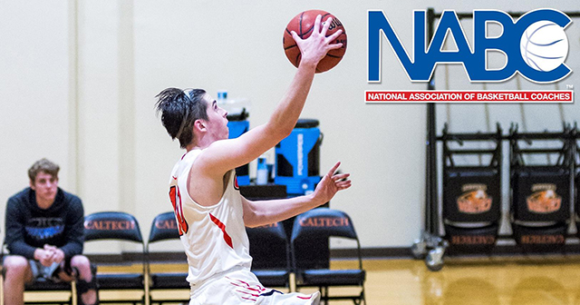 Caltech's Andrews Named to NABC Give Back Team