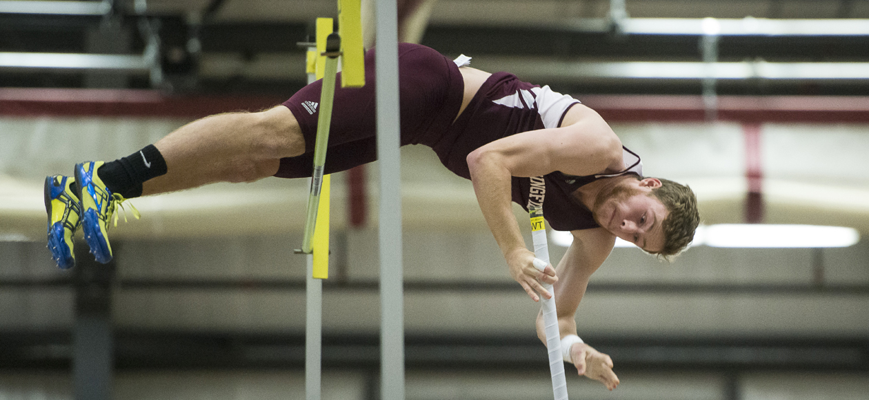 Deckel Takes Second in Pole Vault; Men's Track and Field Competes at Division III New England Championships