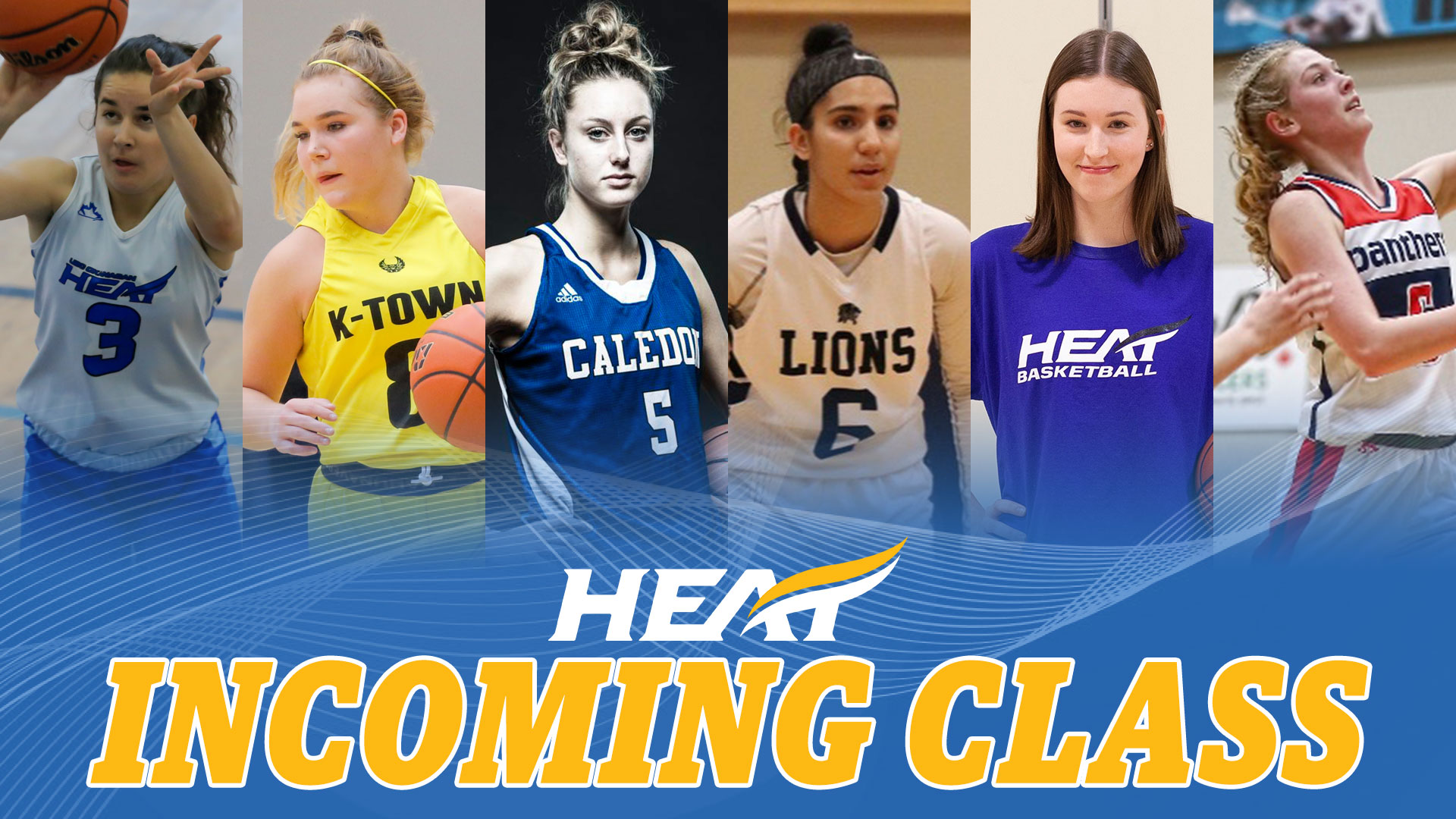 Heat women's basketball's 2020 incoming class