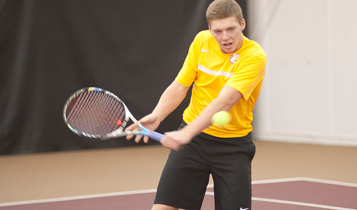 Men's Tennis Resumes Action This Week; Two Home Matches!