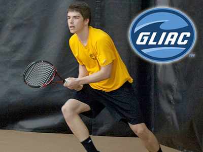 Men's Tennis Players Claim GLIAC Laurels