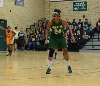 Trina Plummer was named to the 2014 All-Met D-II Second Team. (Boris Shabovta)