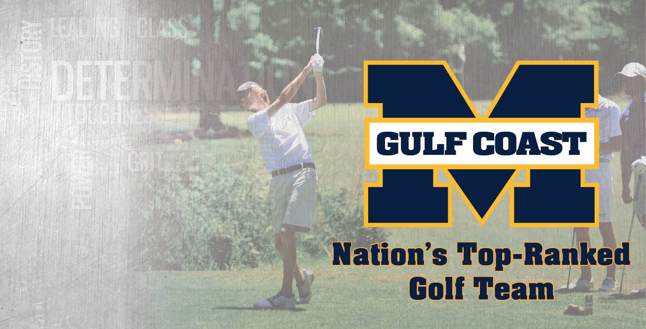 MGCCC golf ranked No. 1 in NJCAA