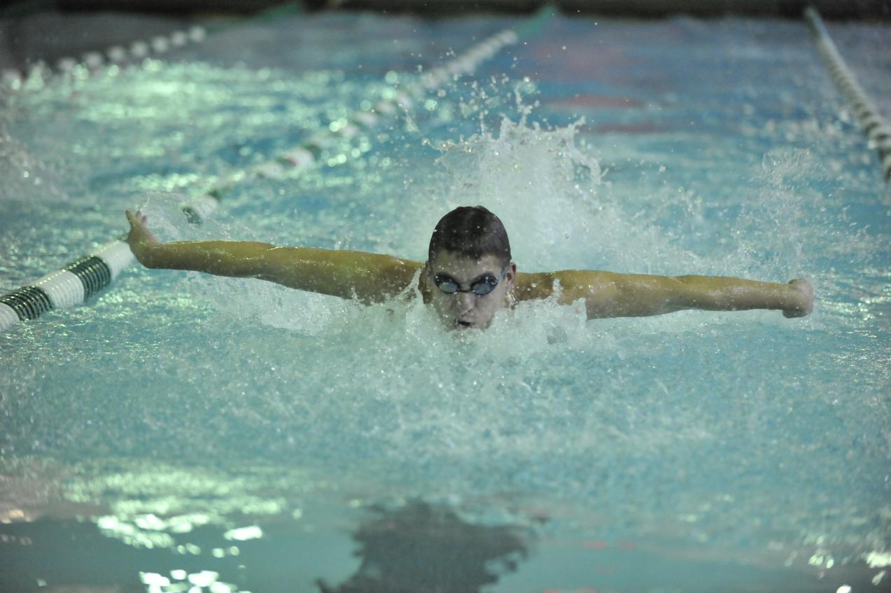 Men's and Women's Swimming Compete on Day One of NEISDA Championships