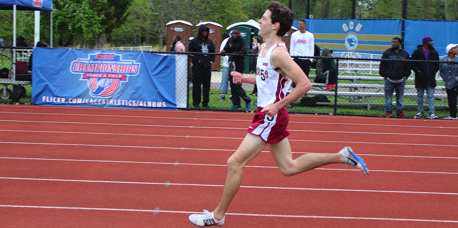 Epstein Takes Second Place in the 5000m; Earns All-CACC Honors as Men's Track and Field Competes at First-Ever CACC Championships