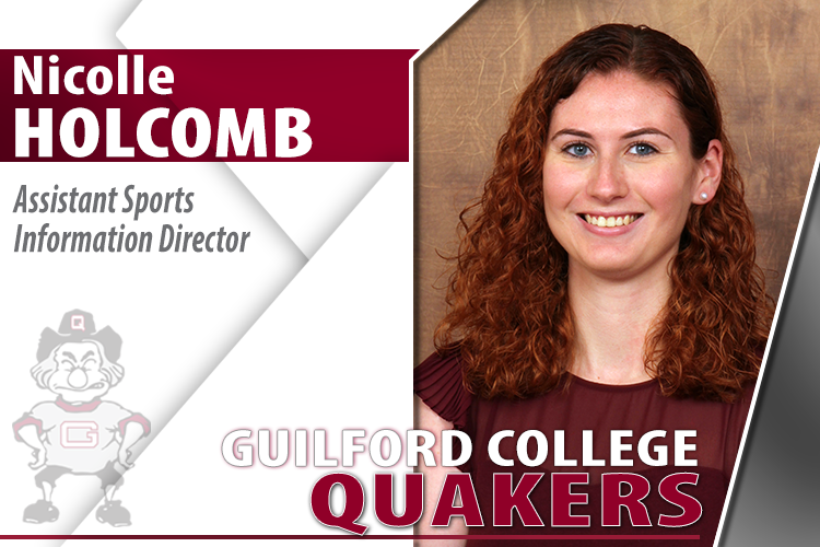 Nicolle Holcomb Added to Guilford's Sports Information Staff