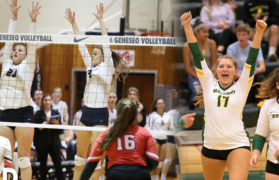 Geneseo and Brockport to play for 2019 SUNYAC volleyball title