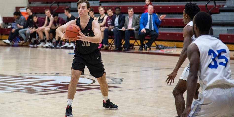 Men's Basketball Completes Season-Sweep of Georgian Court with 78-68 Win Over Lions