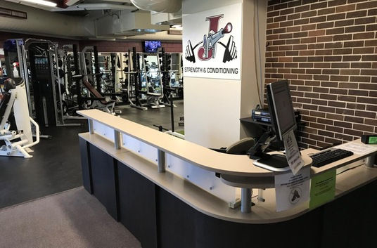 Fitness Center Front Desk
