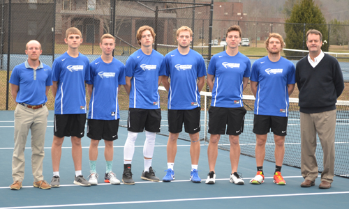 M. Tennis Team Photo