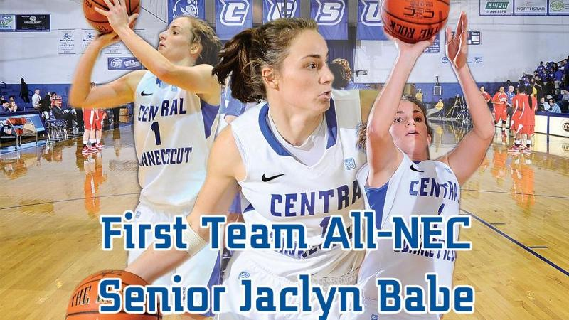 Babe Earns All-NEC First Team