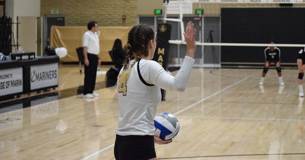 College of Marin Volleyball Closes Out 2019 With Sweep Over Yuba