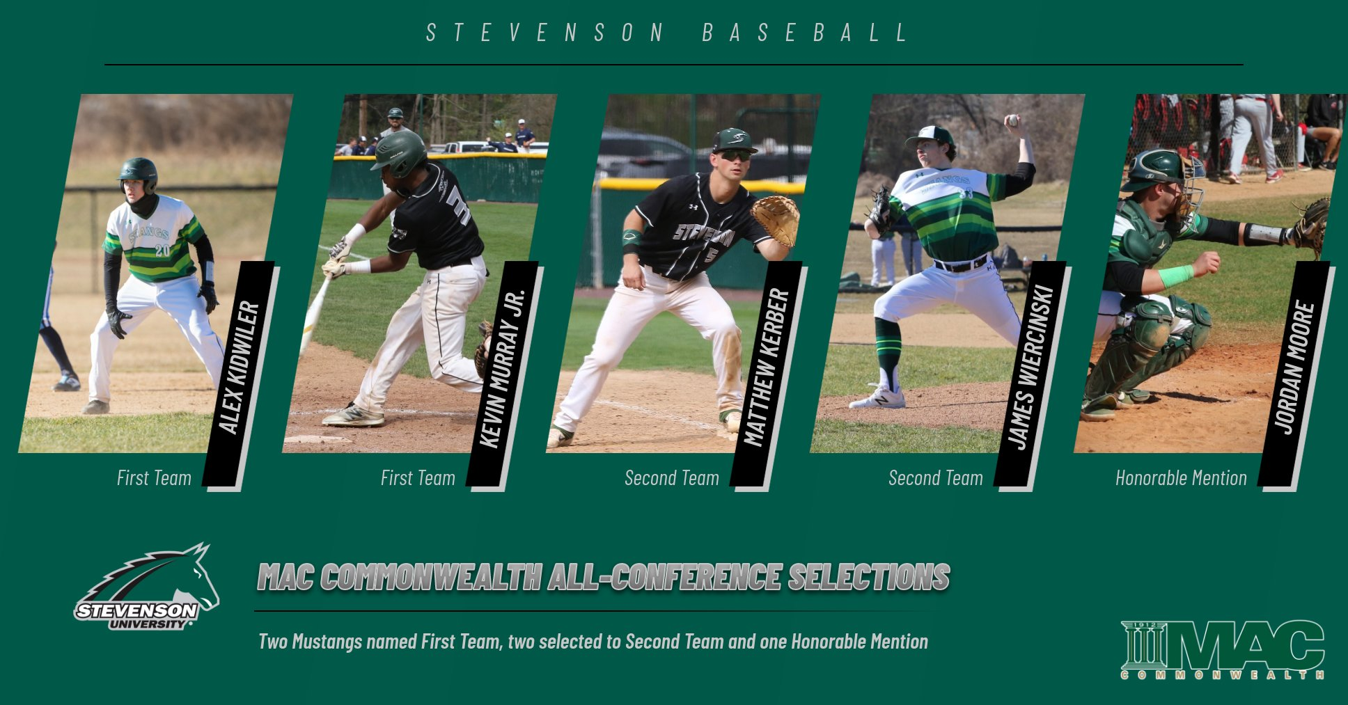 Mustangs Have Five Named To All-Conference Team