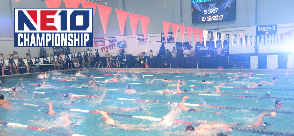 Bentley Men, Southern Connecticut Women Lead Through Day Two of NE10 Championships