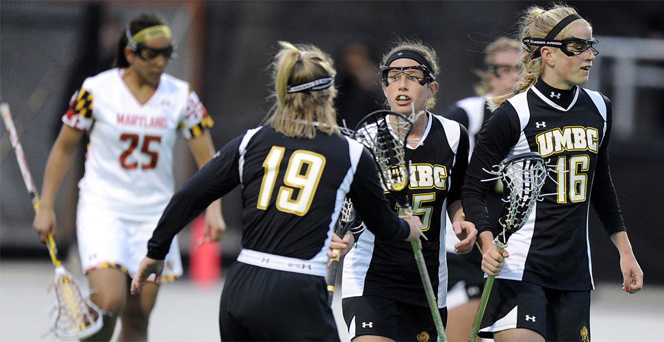 Bilney Scores Four for UMBC Women's Lacrosse; Retrievers Fall at No. 20 Towson, 11-6