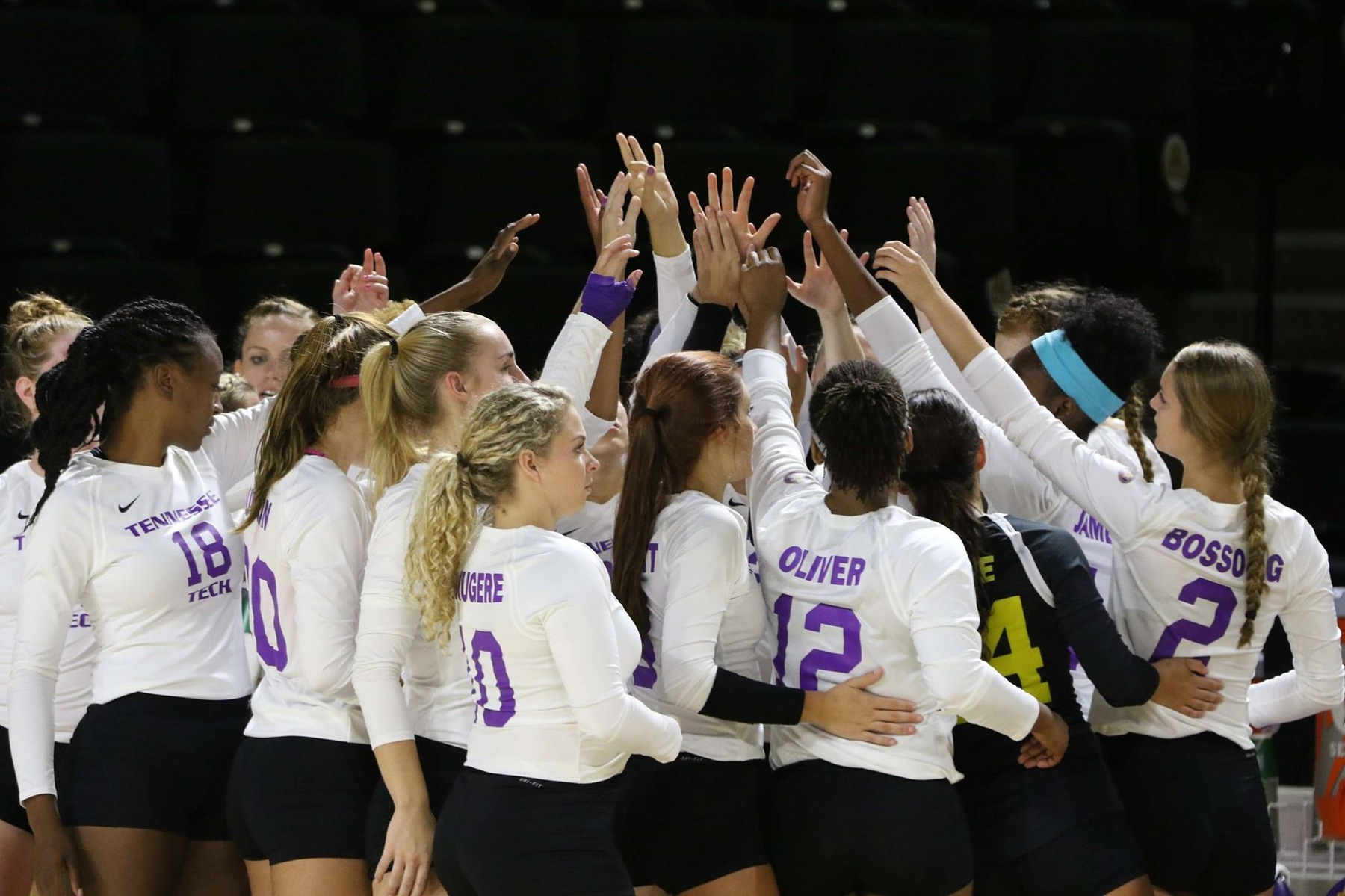 Tech volleyball drops West Virginia, Wright State matches in Holiday Inn Invitational double-header