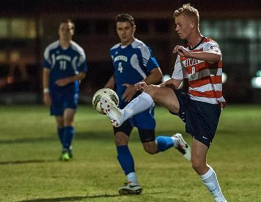 Men's soccer hosts Mars Hill for first round conference game tomorrow at 7:30 p.m.