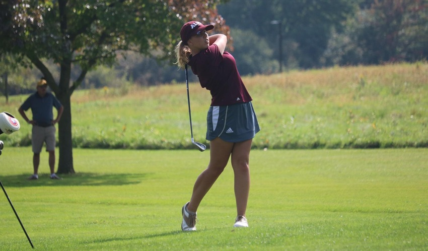 Women's Golf has strong first day at Defiance Invitational