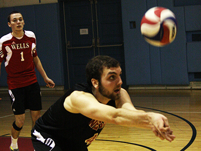 Men's Volleyball Edges Keuka In 3-2 Thriller, Loses to SUNYIT
